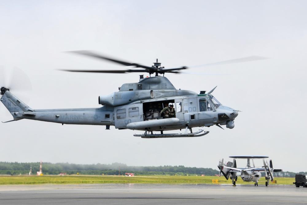 HMLA-169 Arrives at NAF Misawa