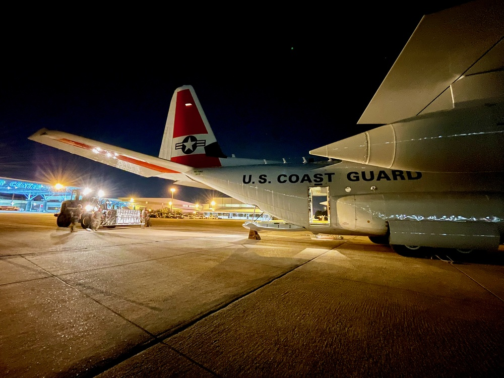 U.S. Coast Guard delivers first COVID vaccines to Haiti