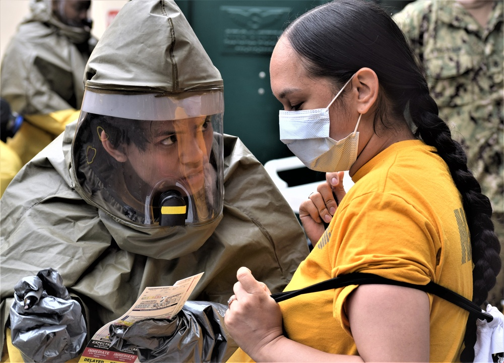 Earthquake Exercise keeps the pressure on at Naval Hospital Bremerton