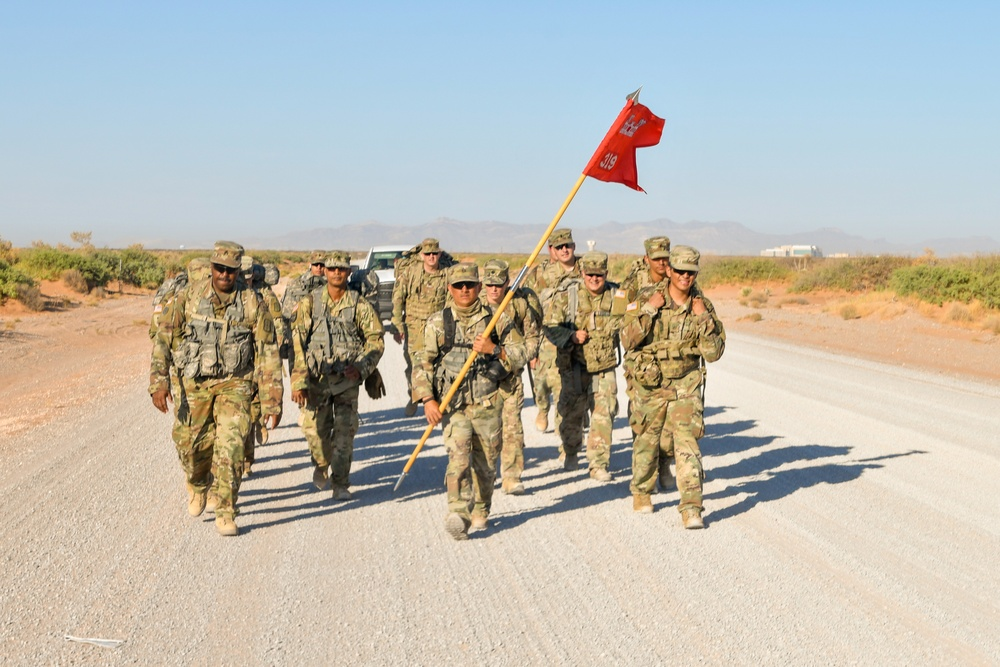 Headline: 319th Engineer Support Company sharpen their skills during Extended Combat Training