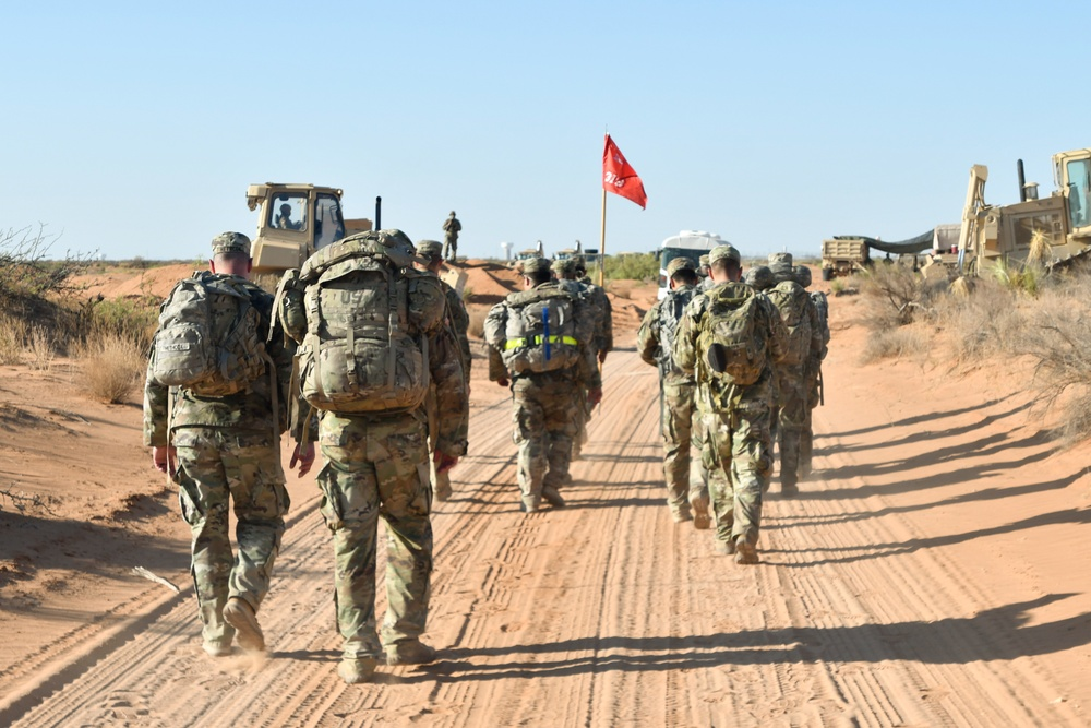 319th Engineer Support Company sharpen their skills during Extended Combat Training