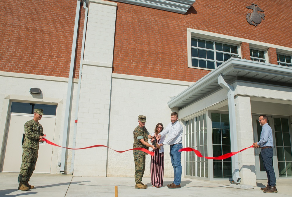 MCAS Cherry Point Water Treatment Plant ribbon cutting ceremony