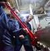 USS John P. Murtha (LPD 26) Maintenance in Main Machinery Room Two