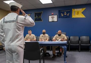 NTAG Philadelphia hold Sailor of the Quarter boards