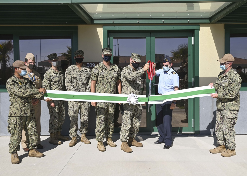 Naval Air Station Sigonella opens Visitor Control Center