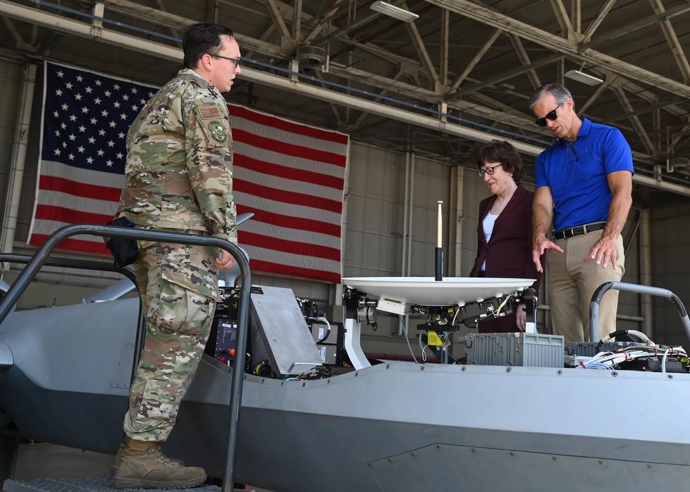 U.S. Senators Visit Naval Air Station Sigonella