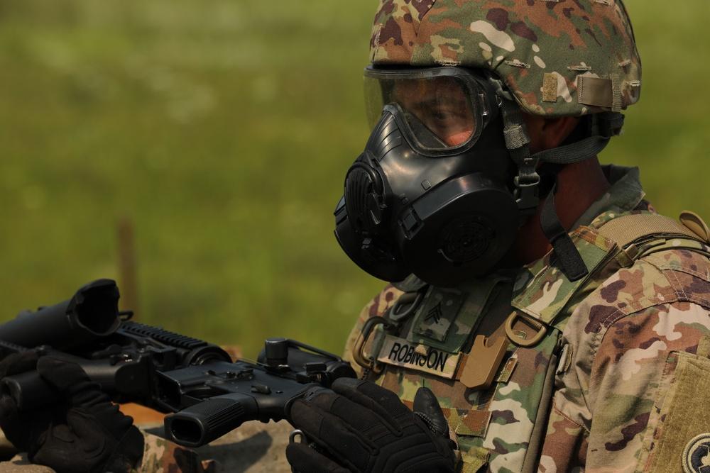 645th ICTC completes M320 CBRN training