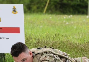 New York National Guard Soldier competing in national best warrior competition