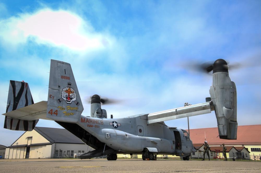 VMM-262 Flight Ops at NAF Misawa
