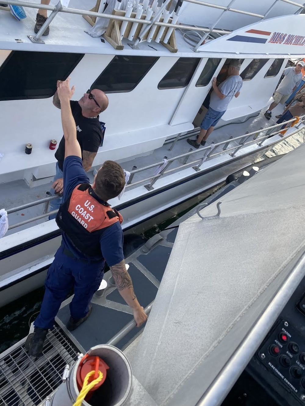 Coast Guard conducts medevac 6 miles northeast of Manasquan Inlet, New Jersey
