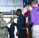 USS Gerald R. Ford (CVN 78) Mass Frocks New Petty Officers