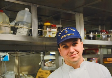 Faces of Maple: Petty Officer 2nd Class Collin Pace