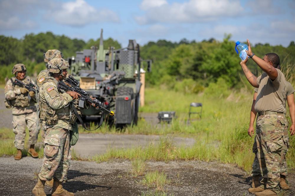 87th DSSB Conducts Unit Defense Training