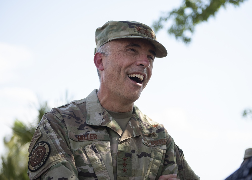 USAF/USSF surgeon general tours 99th MDG