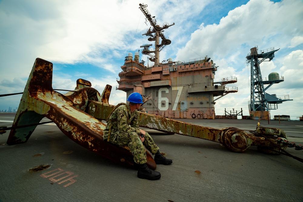 JFK Sailors visit legacy