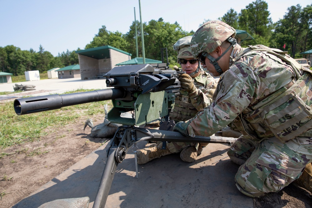 645th ICTC Mark 19 crews train to engage