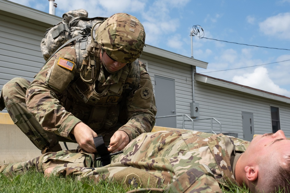 Treating Covid-19 Patients at Fort McCoy