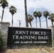 Joint Forces Training Base Los Alamitos signage