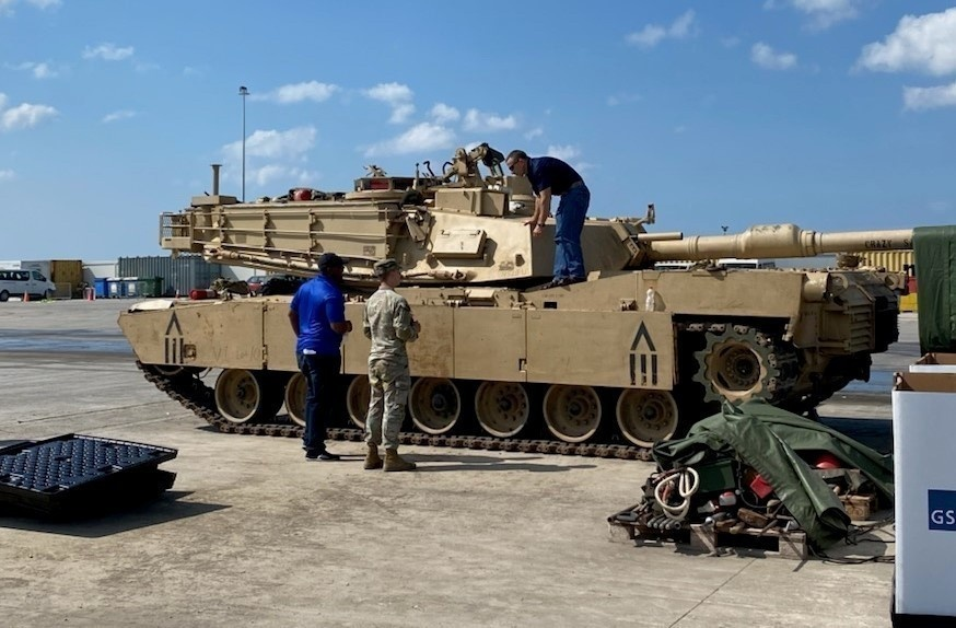 405th AFSB assists 1st Cavalry Division with divestiture mission following DEFENDER-Europe 21