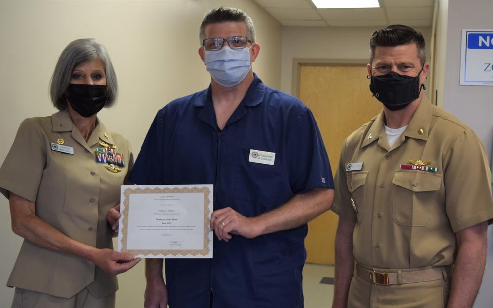 I Am Navy Medicine - and NHB Employee of the Month - Matt Hodgson