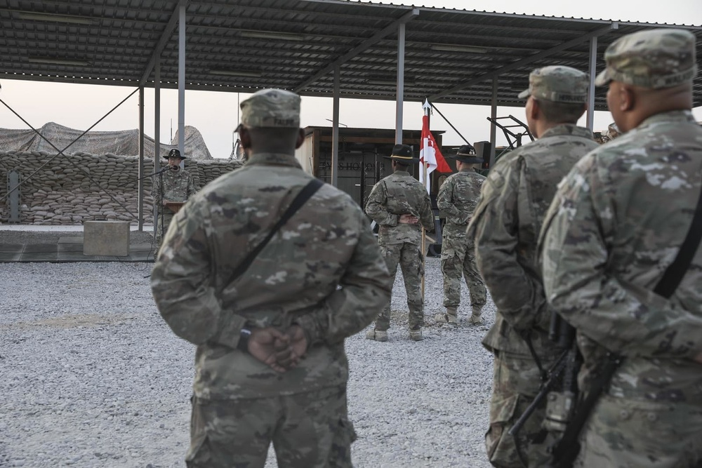 LANG Cavalry Troops welcome new commanders