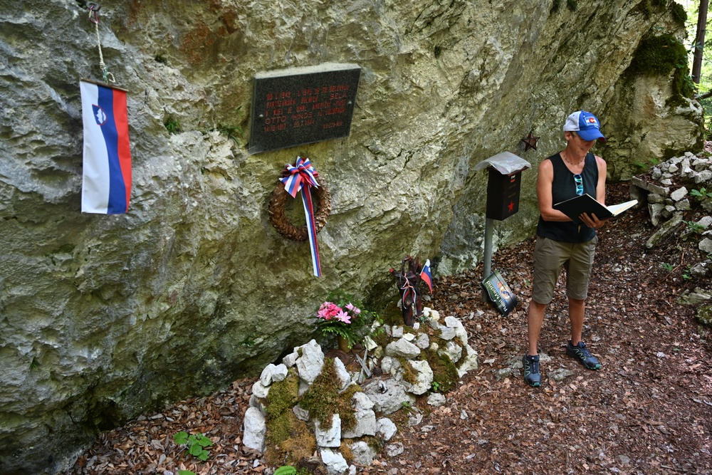 Visit to memorial landmark, dedicated to Ott Hinds