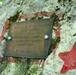 Memorial plaque dedicated to Ott Hinds