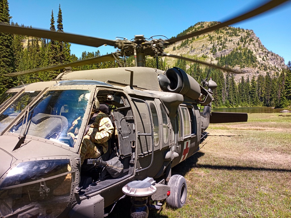 Yakima Dustoff Conducts 4 Aeromedical Evacuation in 24 Hours