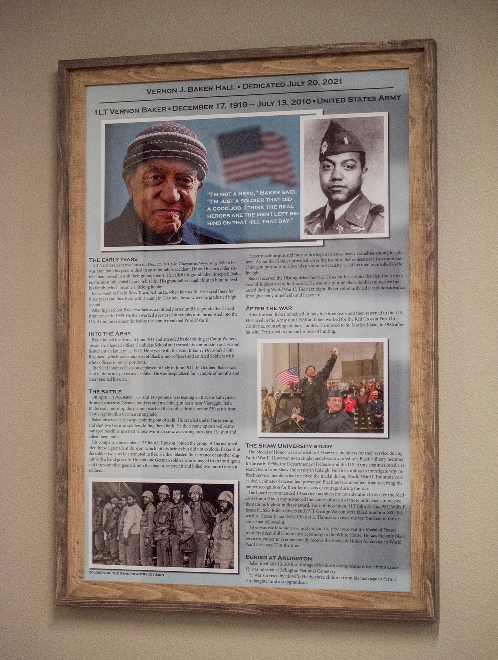 Idaho National Guard memorializes WWII Medal of Honor recipient