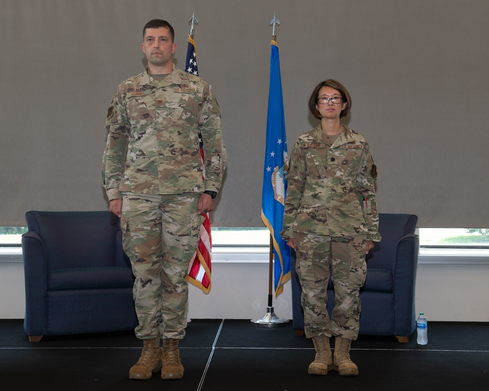 192nd Maintenance Squadron holds assumption of command