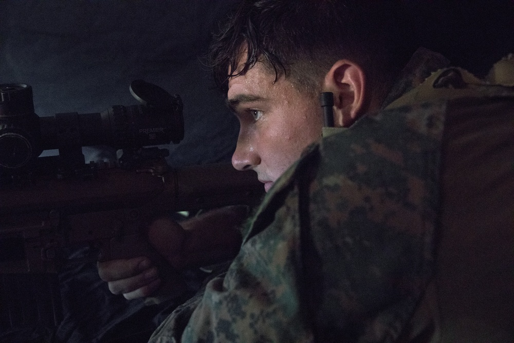 Marines Participate in Urban Sniper Course