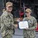 Award Ceremony Aboard USS Charleston