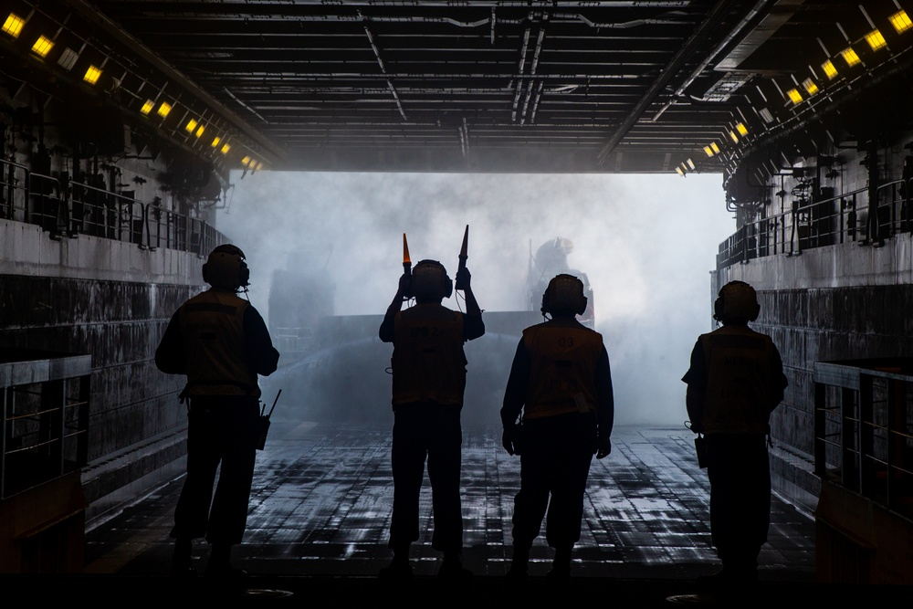 Marines and Sailors Conduct Destructive Weather Mission Rehearsals at Naval Station Norfolk