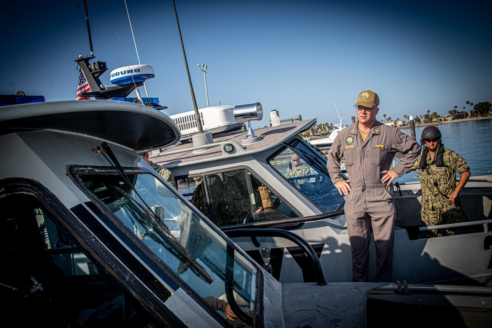 Maritime Expeditionary Security Group ONE Completes INSURV in San Diego