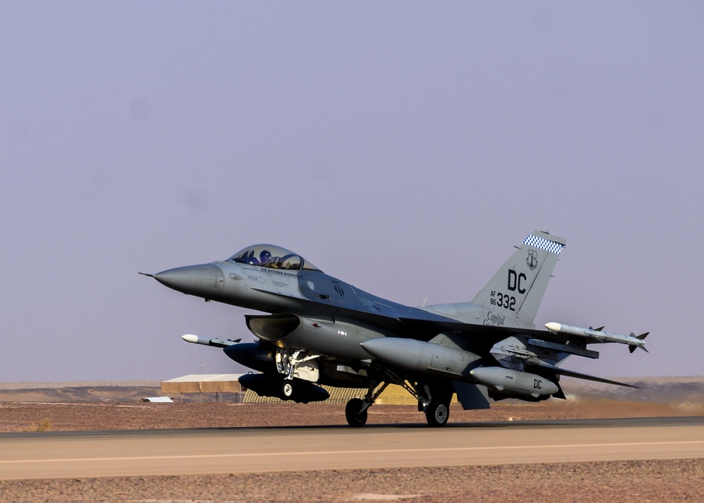 """""""Capital Guardians"""" bring excellence to AFCENT skies"""