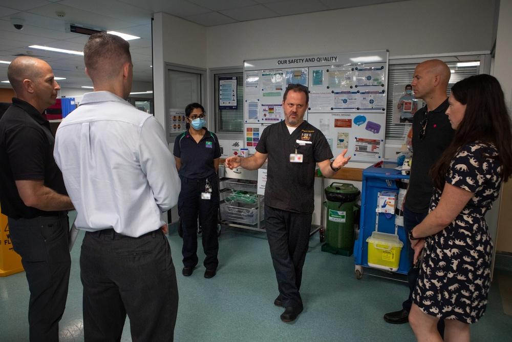 MRF-D health care providers tour the Royal Darwin Hospital