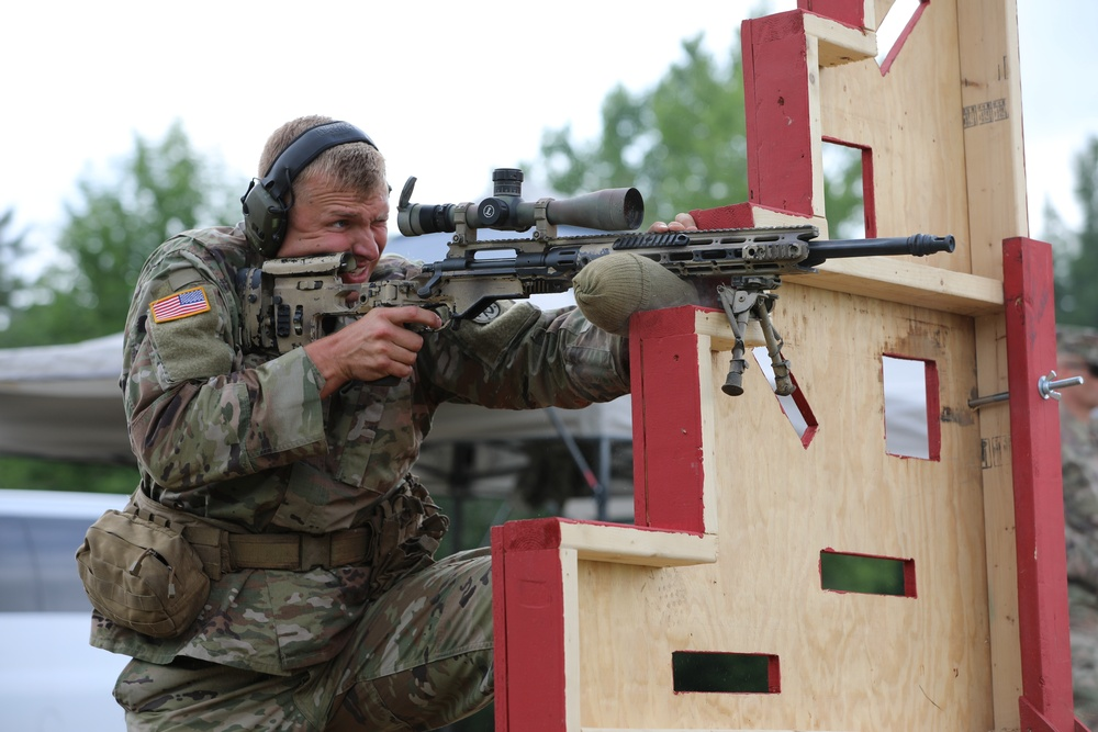2nd Battalion, 108th Infantry snipers train