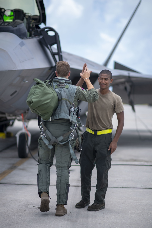 1st Lt. Stukey, F-22 student pilot