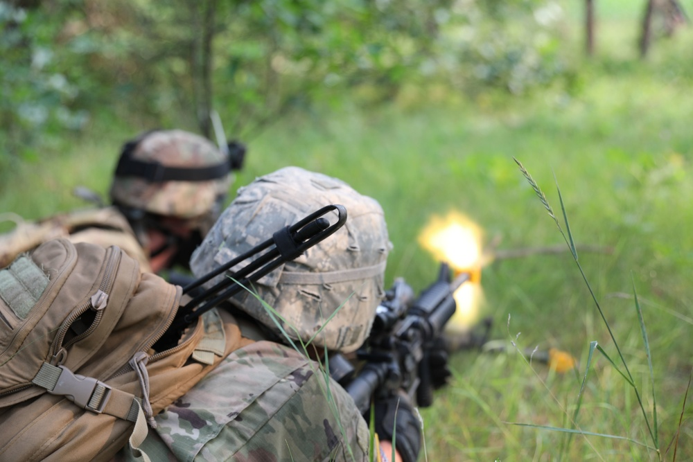 402nd Engineer Company Sapper Force on Force Training