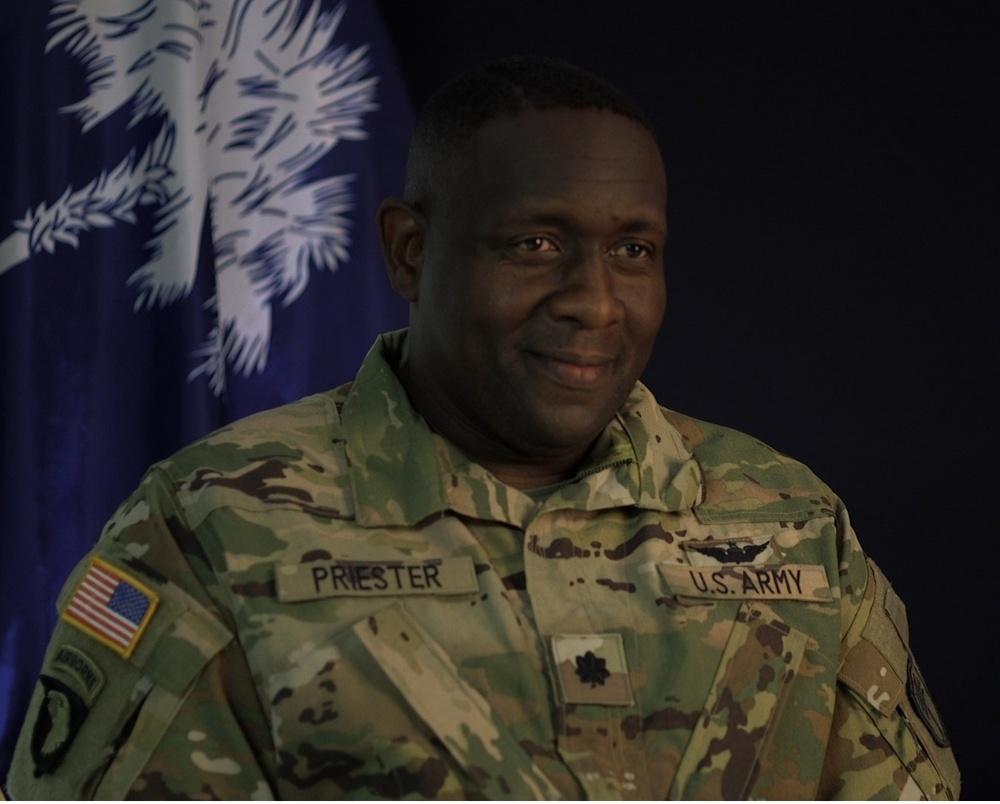 South Carolina National Guard announces next commander of McCrady Training Center
