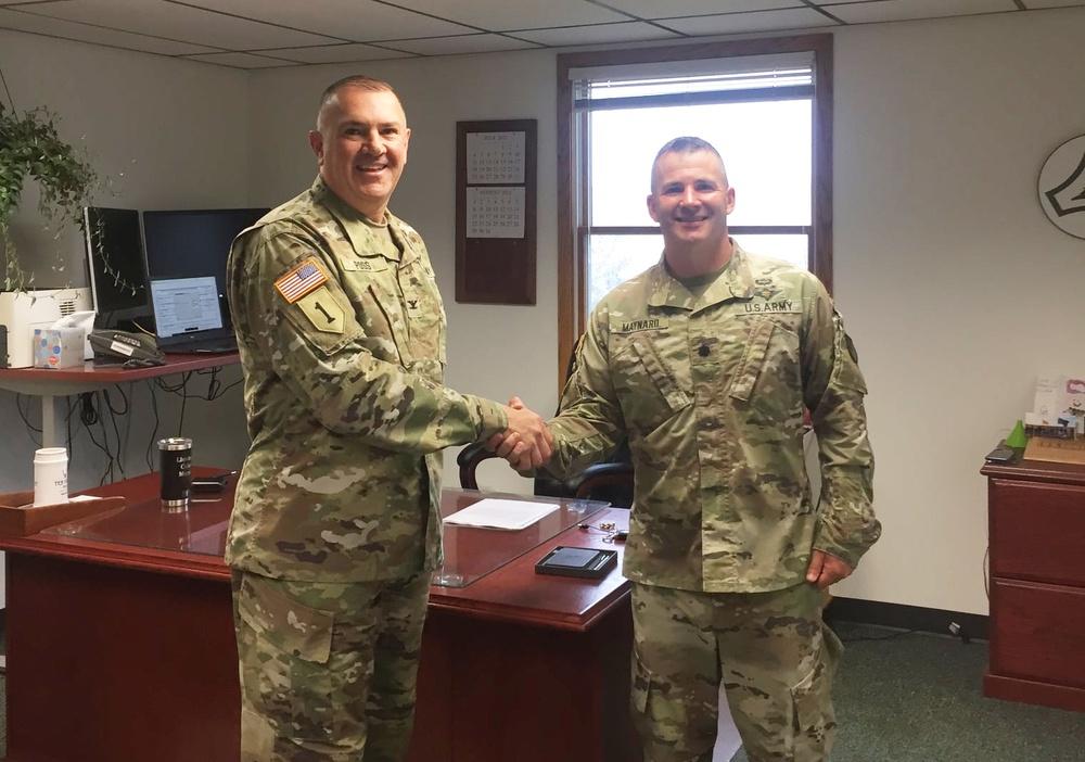 Fort McCoy welcomes new garrison deputy commander