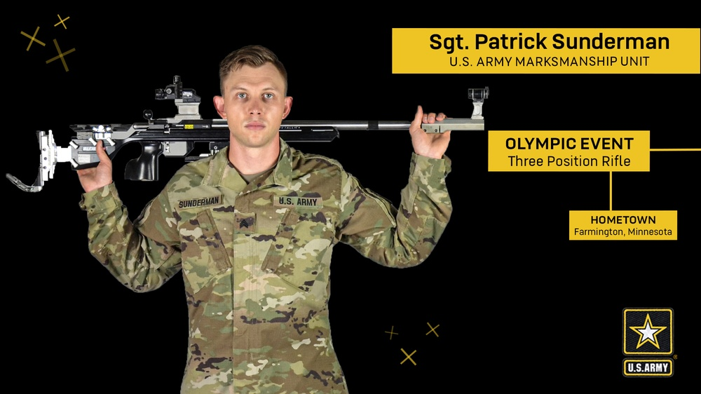 Soldier from Farmington, Minnesota competes at the Olympic Games