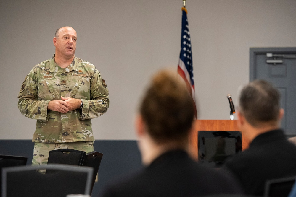 Wright-Patterson Air Force Base hosts Leadership Dayton