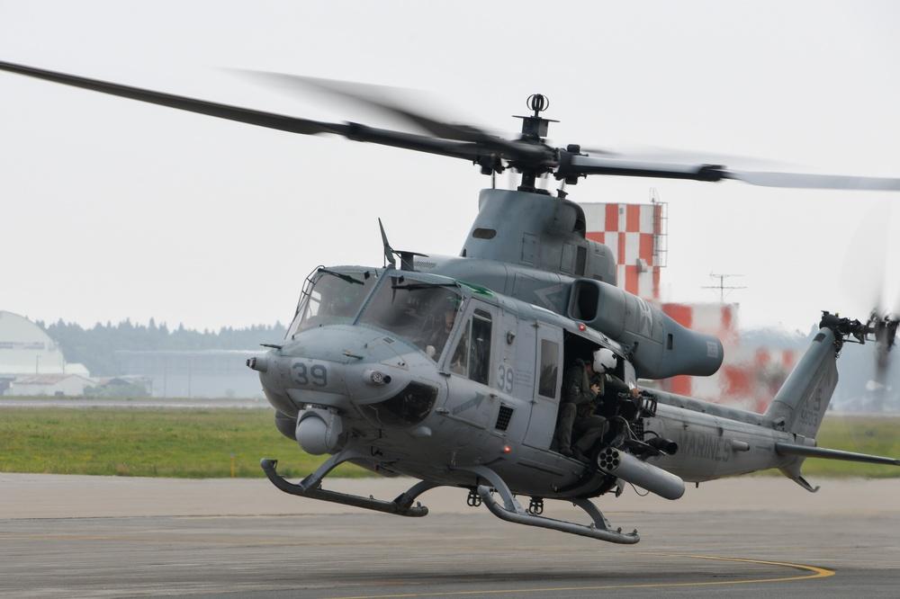 HMLA-169 Departs NAF Misawa
