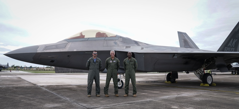 36th Wing and 525th Fighter Squadron reunite during Pacific Iron 21