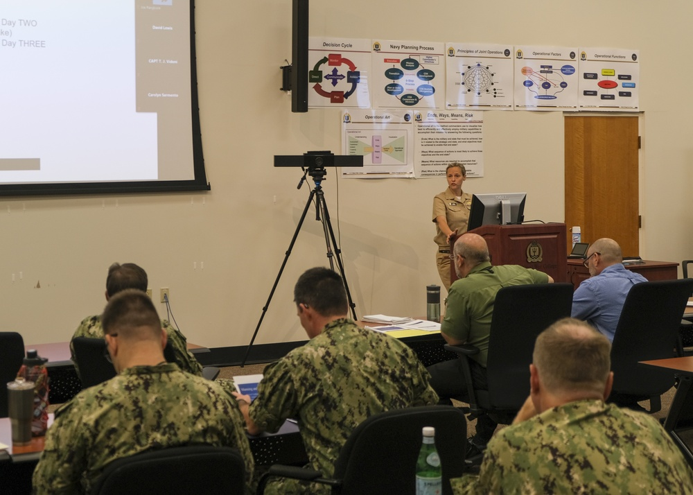 U.S. Naval War College hosted the final planning conference for the 24th International Seapower Symposium, July 13, 2021.
