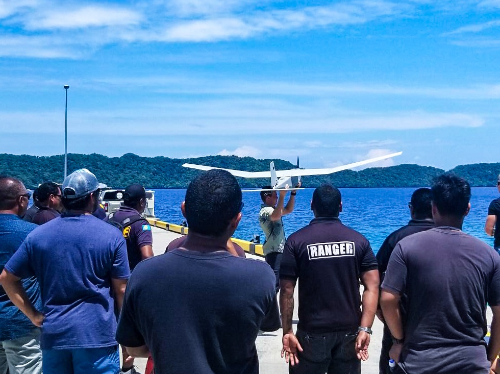NSW Exchanges Training with Palau Bureau of Public Safety, Division of Marine Law Enforcement