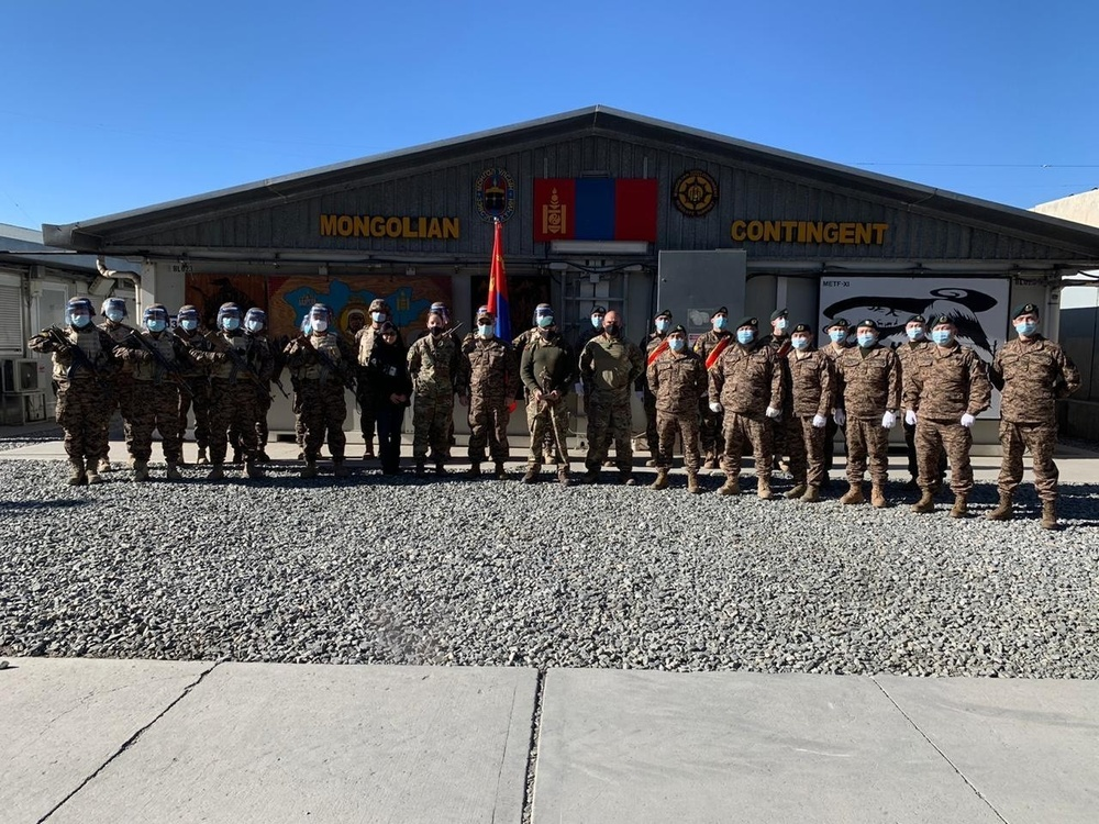 18-year mission with Mongolian counterparts comes to an end