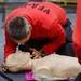 USS Carl Vinson (CVN 70) Sailors Practice Cardiopulmonary Resuscitation