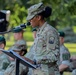 Deployed movement control teams conduct transfer of authority ceremony in Lithuania